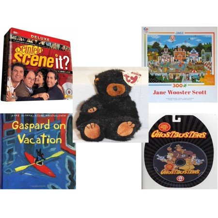 Children's Gift Bundle [5 Piece] -  Scene It? Seinfeld - Circus Pandemonium   - TY Attic Treasure Ivan The Bear 8