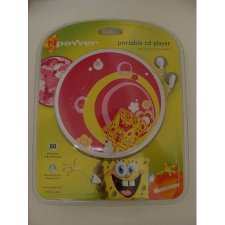 Square Format (Spongebob Square Pants Portable Cd Player, Plays CD, CD-R/-RW formats By)