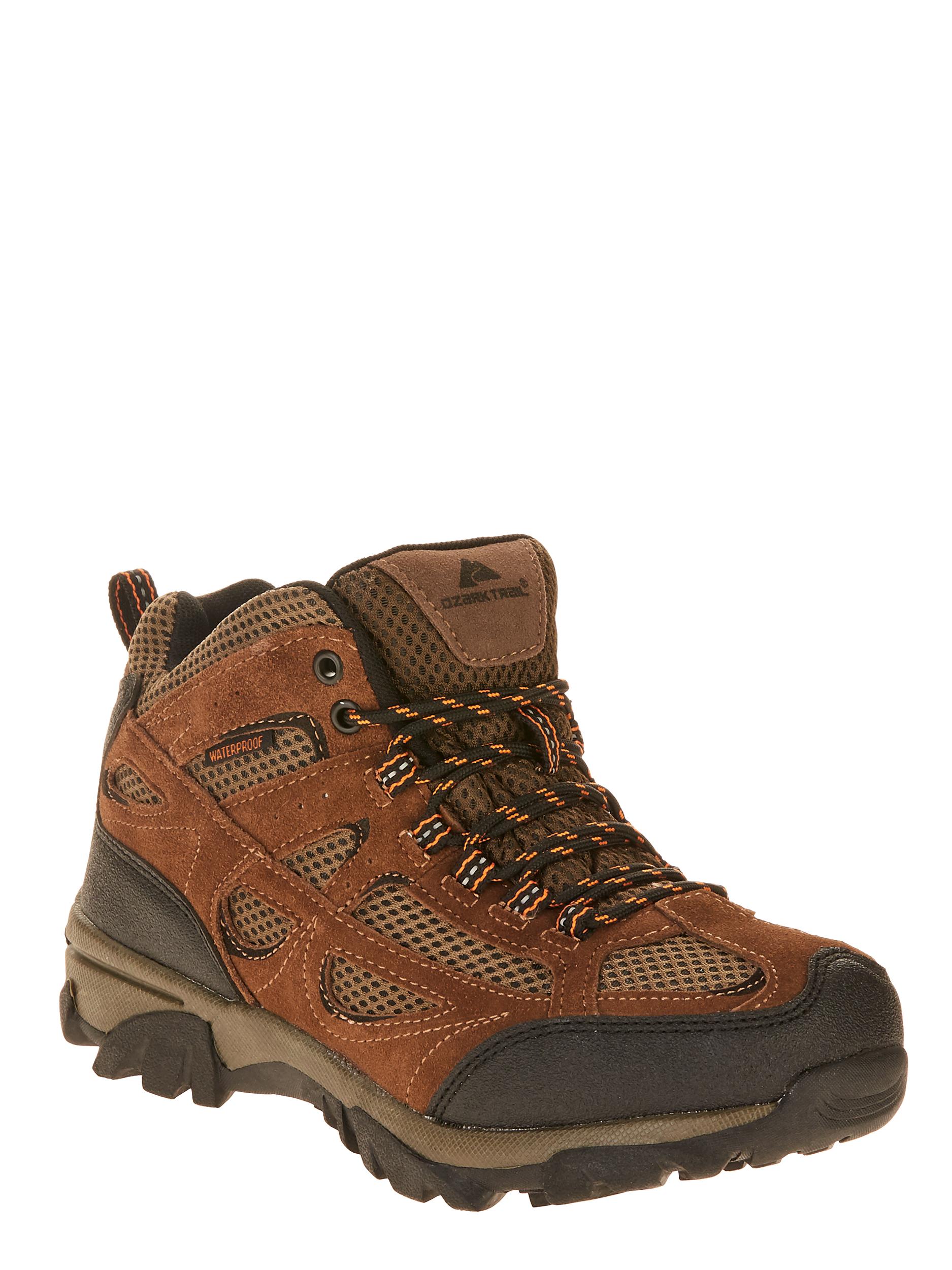 Ozark Trail Men's Vented Mid Waterproof Leather Hiker Boot