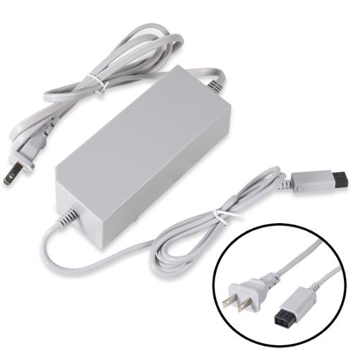 Fosmon Replacement Power Supply Cord AC Charger Adapter for Nintendo Wii