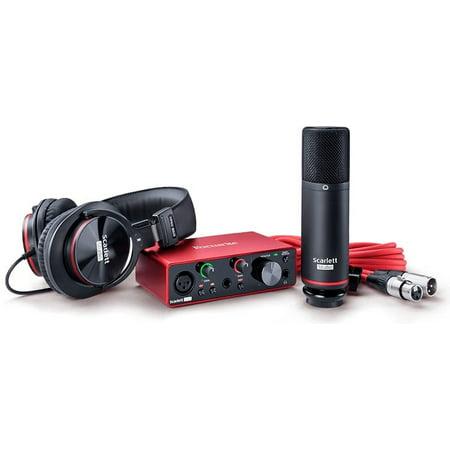 Focusrite Scarlett Solo Studio (3rd Gen) Complete Recording (Focusrite Saffire Pro 40 Vs Scarlett 18i20)