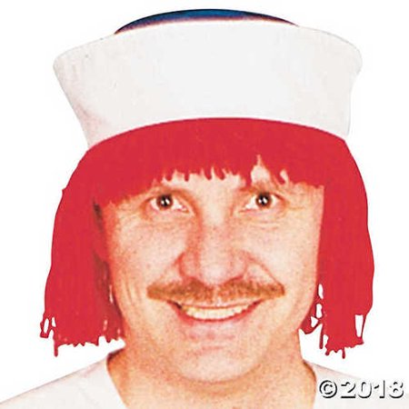 Raggedy Andy WIg with Hat - Raggedy Ann Hat