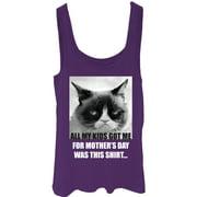Grumpy Cat Juniors' Mother's Day Gift Tank Top