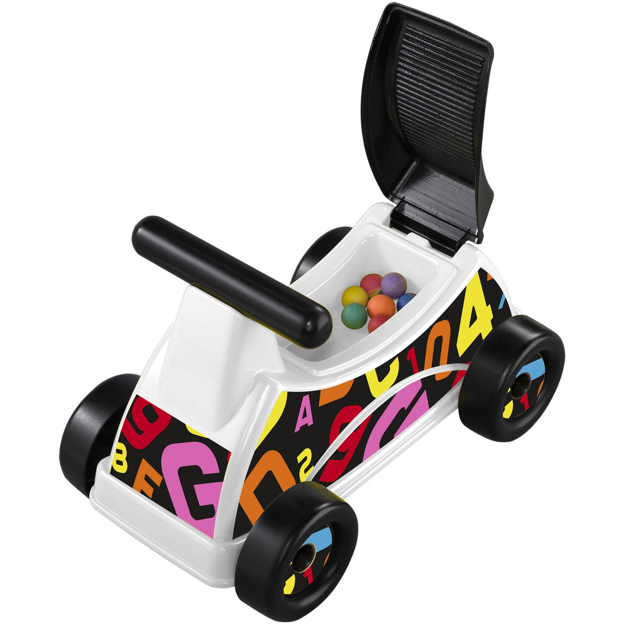 American Plastic Toys ABC & 123 Rider - Walmart.com