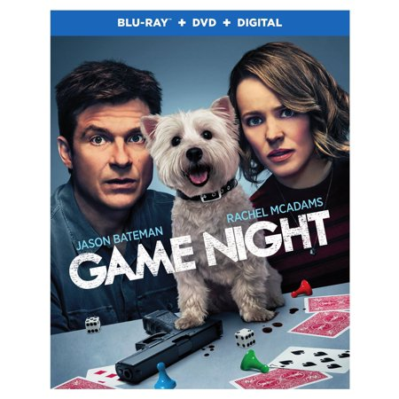 Game Night (Blu-ray + DVD + - Halloween Fright Nights Movie World