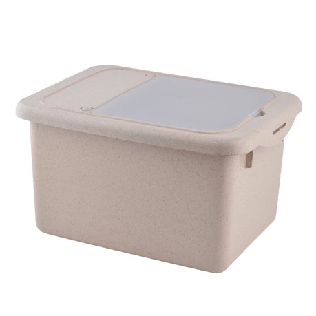 Household Kitchen Plastic Rice Soybean Container Multifunction ...