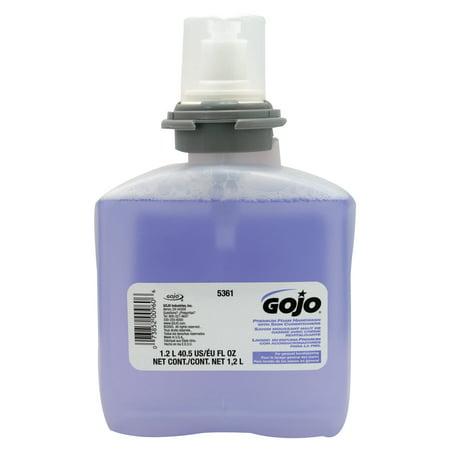 Gojo Premium Foam Handwash with Skin Conditioners, Cranberry, Refill Bottle, 1,200 -