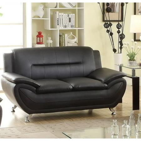 Jasmine black Living room Loveseat