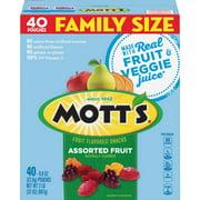 Mott's Fruit Snacks, Gluten Free, 40 ct, 0.8 oz