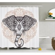 Floral Shower Curtains - Pale pink shower curtain
