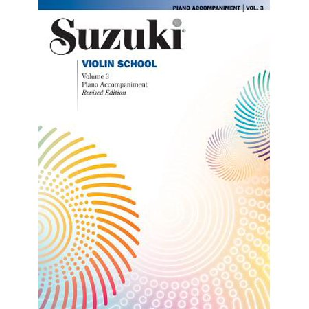 Suzuki Violin School, Vol 3 : Piano Acc.