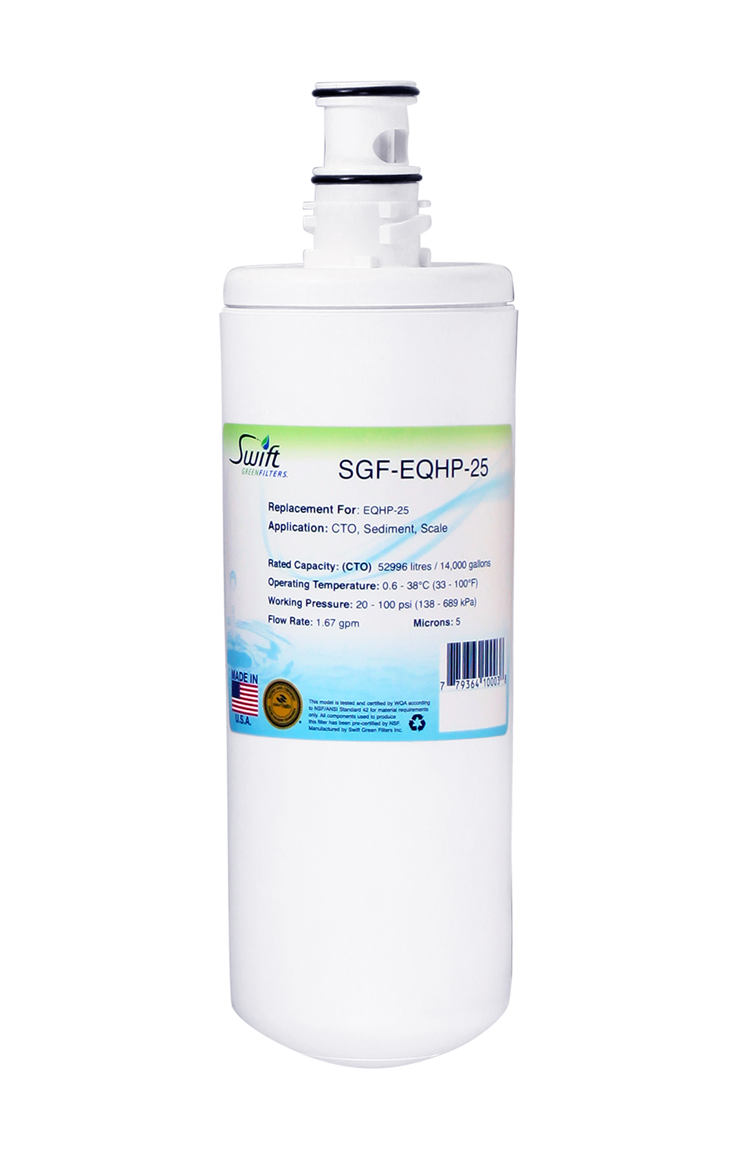 Bunn EQHP-25 Filter Replacement SGF-EQHP-25 by Swift Green Filters