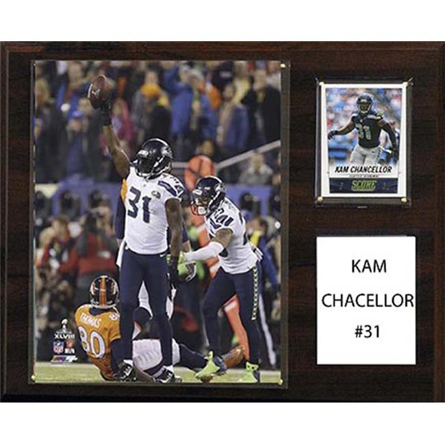 CandICollectables 1215CHANCELLOR NFL 12 x 15 in. Kam Chancellor Seattle Seahawks Player Plaque - image 1 of 1