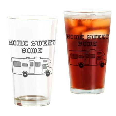 Mini Beer Glasses (CafePress - Home Sweet Home Mini Motorhome Pint Glass - Pint Glass, Drinking Glass, 16 oz.)