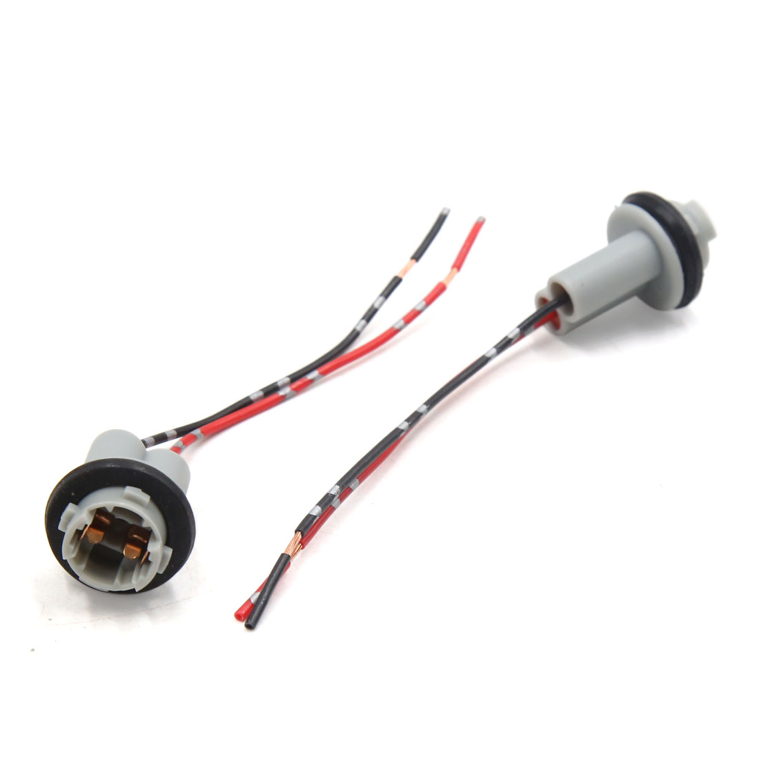 Car Truck Light Lamp T10 Socket Holder Extension Wiring Harness Lite Connector 6pcs