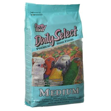 Pretty Bird Daily Select Premium Bird Food Medium (3 lbs)