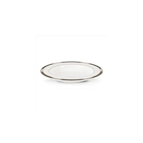Lenox Hancock Platinum White Pasta/Rim Soup Bowl 9.0