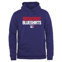 New York Rangers Home Ice Pullover Hoodie - Royal