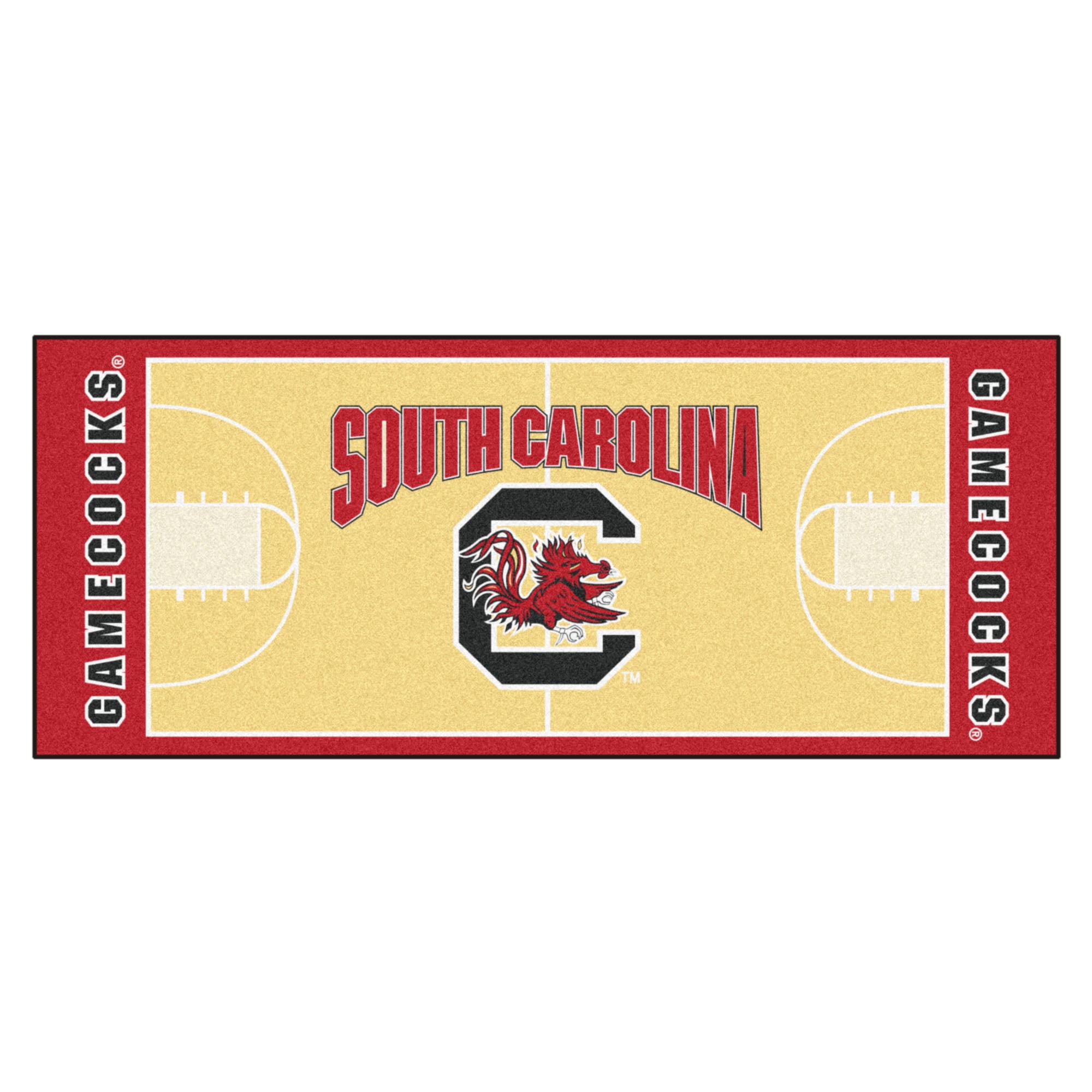 "South Carolina Basketball Court Runner 30""x72"""