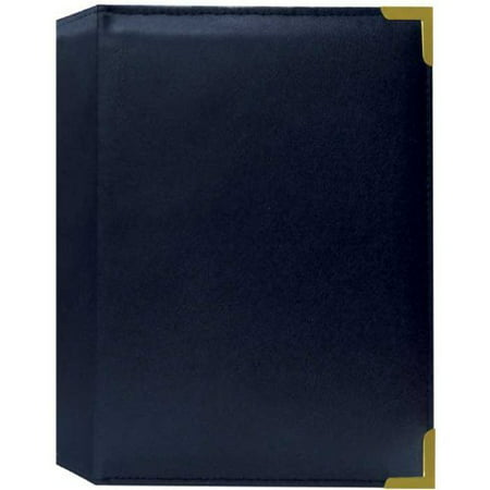 Pioneer Sm57 Nabx Book Bound Oxford Brass Corner Photo Album For 5 X 7 Pictures Navy Blue