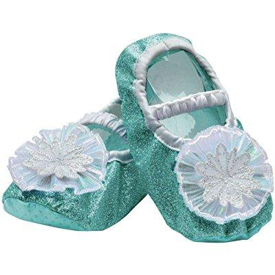 disguise elsa toddler slippers costume, one size (upto size - Disguise Elsa Costume