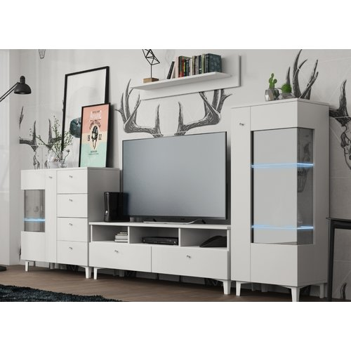 Ivy Bronx Halloway Entertainment Center for TVs up to 65'' (Set of 4)
