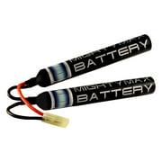 9.6v 1600mAh NiMH Butterfly Airsoft AEG Gun Battery G&G ICS JG CA TM SRC