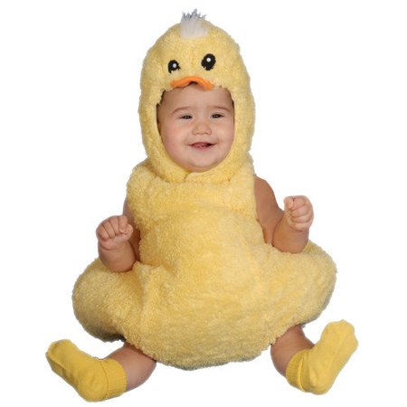 Dress Up America Cute Little Baby Duck Costume Set - Duck Baby Costume