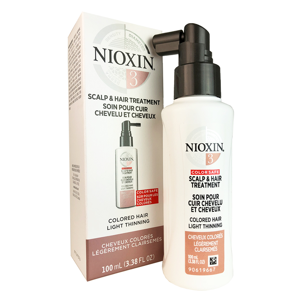 Nioxin System 3 Scalp Activating Treatment For Fine Chem.Enh.Normal-Thin Hair Nioxin, 3.4 Oz
