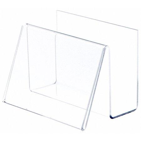 Clear Acrylic Card (Plymor Brand Deluxe Clear Acrylic Card Holder &)