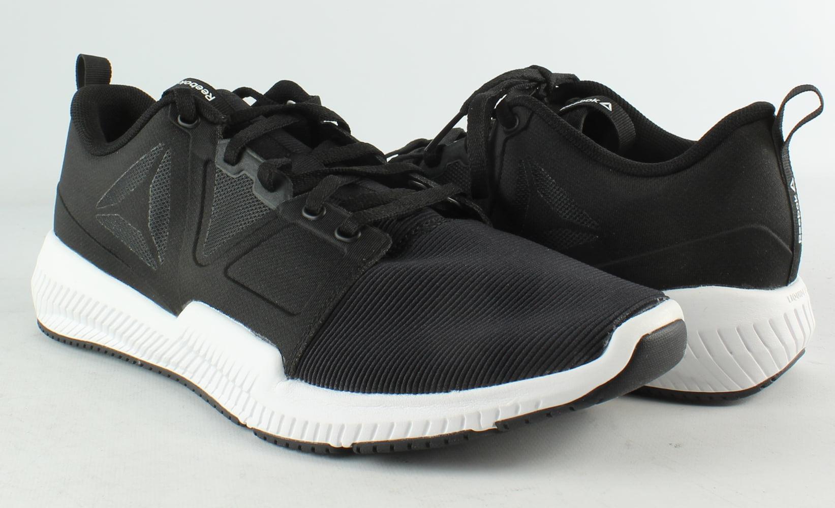 3d6d65182203 Reebok - Reebok Mens HYDRORUSH TR Black White Cross Training Shoes Size 8  New - Walmart.com