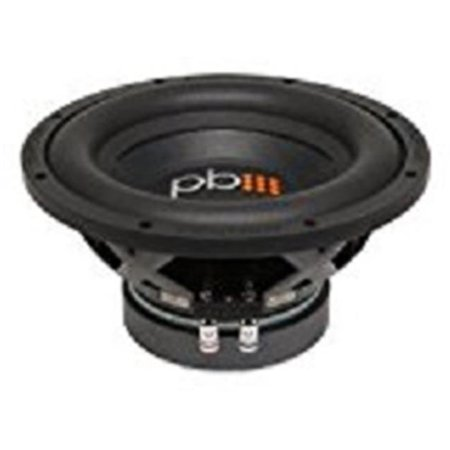 Power Bass P1T-S1004 Woofers Car Stereo - Black - image 1 of 1