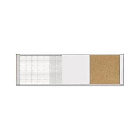 Magnetic Calendar Combo Board BVCXA429993700 (Dry Erase Calendar And Cork Board Combo)