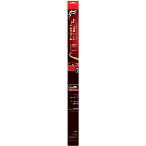 "Gila 24"" x 78"" Ultra Shield Max Peel-and-Cling Auto Tint"