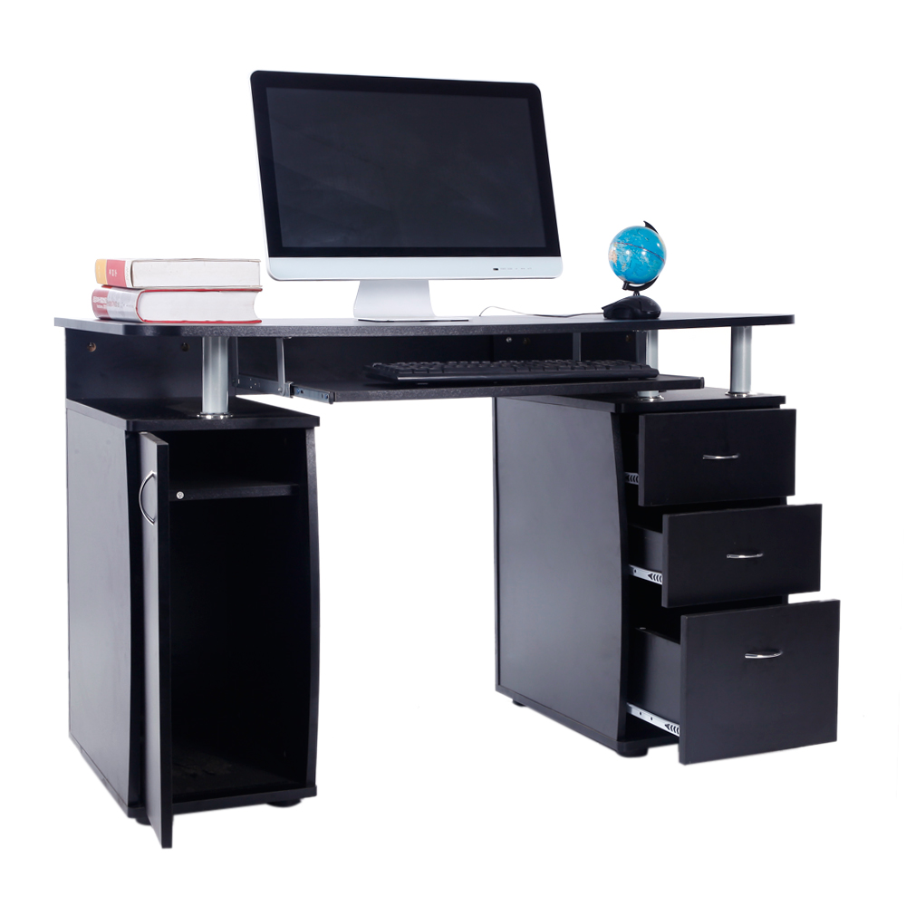 Zimtown Computer Desk PC Laptop Table w/Drawer Home Office Study  Workstation Multi-color