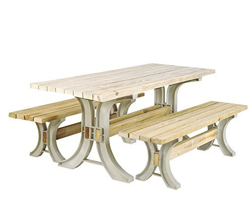 2x4basics Picnic Table � Sand by Hopkins