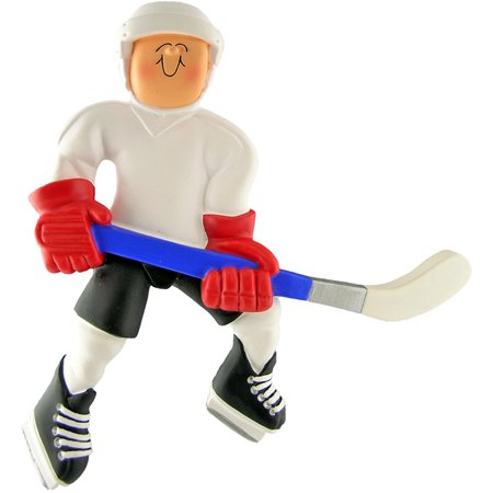 Hockey Player Personalized  Christmas Ornament DO-IT-YOURSELF