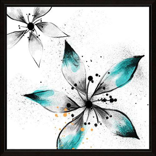 PTM Images Flower Splash I Framed Painting Print