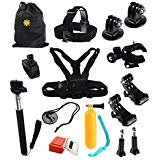 15-in-1 Outdoor Kit Edition Premium GoPro Accessories for GoPro Hero