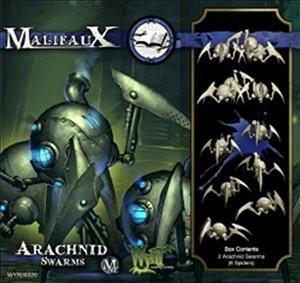 Wyrd Miniatures WYR20320 Malifaux Arcanists Steam Arachnid Swarm Model Kit