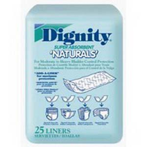 "Dignity disposable pad 4"" x 12"" part no. 26955-175 (25/package)"