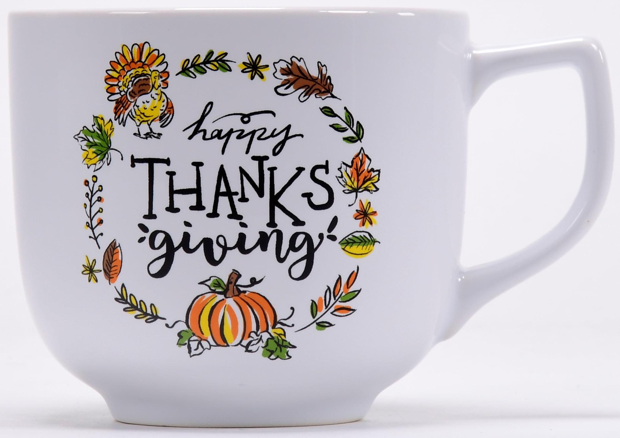 Jumbo Happy Thanksgiving Mug Walmart Com Walmart Com