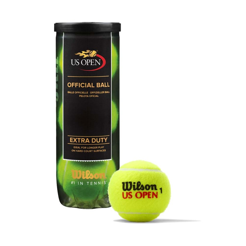 Wilson US Open Extra Duty Tennis Ball by Generic