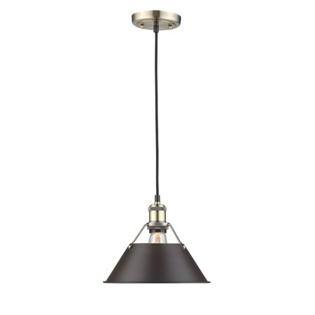 Golden Lighting Madera 1 Light Wall Sconce Torchiere in Black Iron