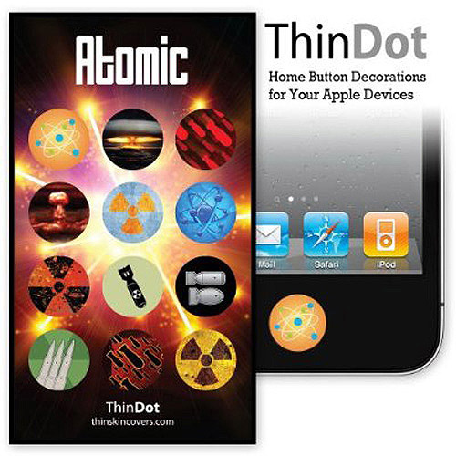 Thindot Home Button Stickers For Iphone,
