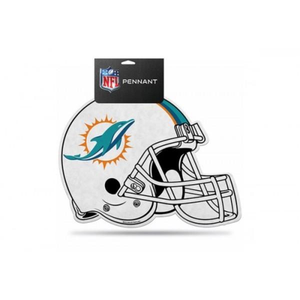 Miami Dolphins Die Cut Pennant