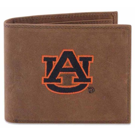 Auburn Passcase Embroidered Leather Wallet (Ashburn Leather)