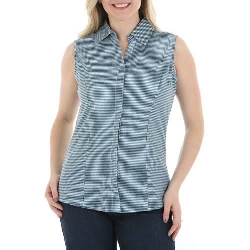 Riders by Lee Women's Sleeveless Button Up Top
