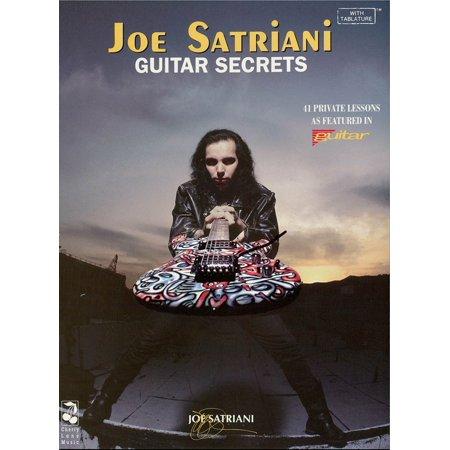 Joe Satriani - Guitar Secrets (Music Instruction) - eBook