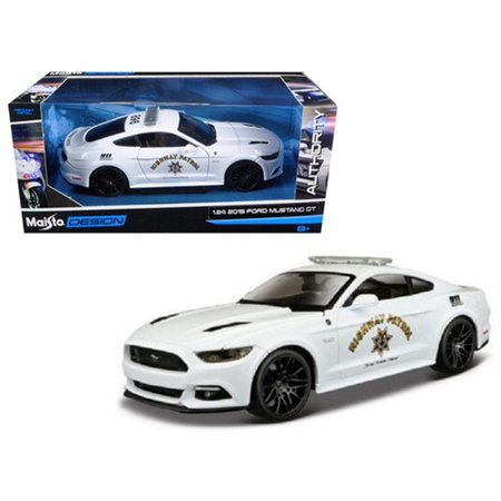2015 Ford Mustang GT Highway Patrol Diecast Vehicle, True-to-scale detail  By